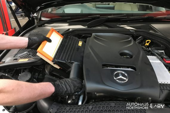 Mercedes Benz Filter Change