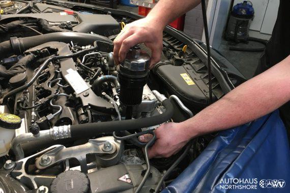Mercedes Benz Filter Service